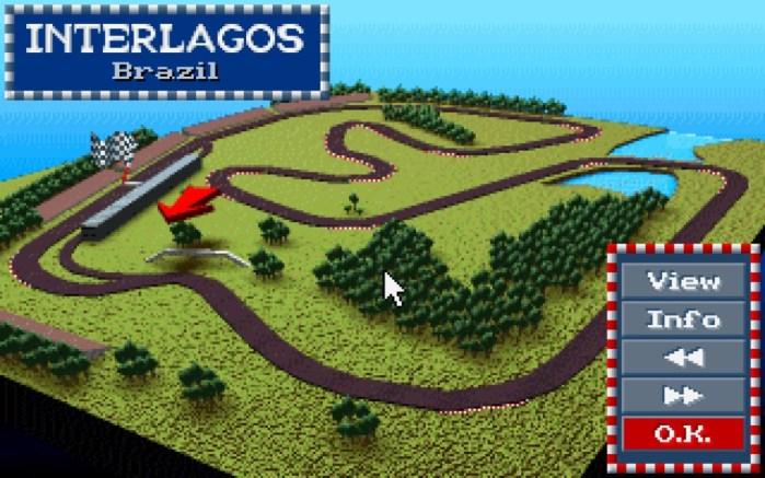 Arkade Speed - F1GP, a estreia de Interlagos nos games, circuito que viu vitória épica de Senna em 1991