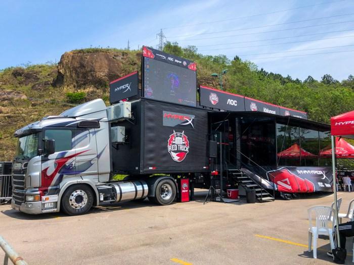 Conferimos o processo seletivo da Red Truck, o caminhão da Red Canids, em Florianópolis