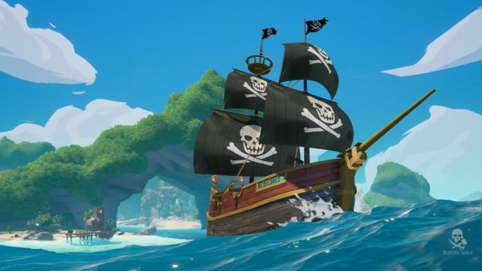 Blazing Sails é um novo Battle Royale com temática pirata e batalhas de navios