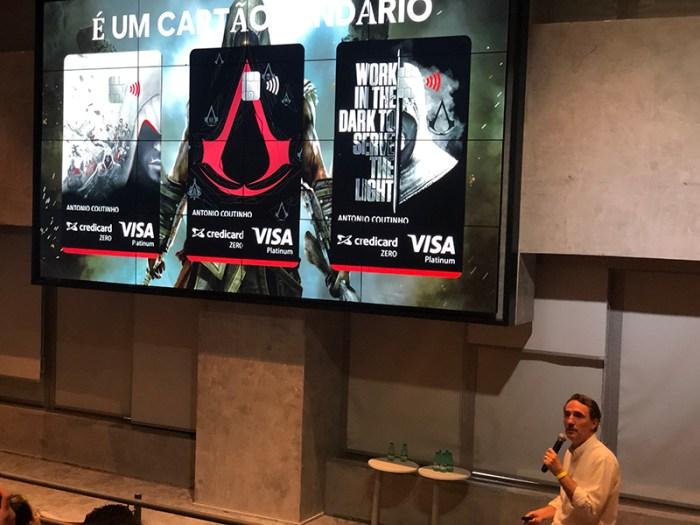 """""""Assassin's Creedicard"""": Ubisoft e Credicard lançam cartão de crédito com descontos em games"""
