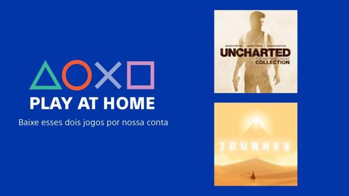 Play at Home: Sony oferece jogos de graça para incentivar todo mundo a ficar em casa