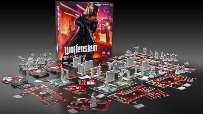 Wolfenstein vai ganhar uma versão em jogo de tabuleiro