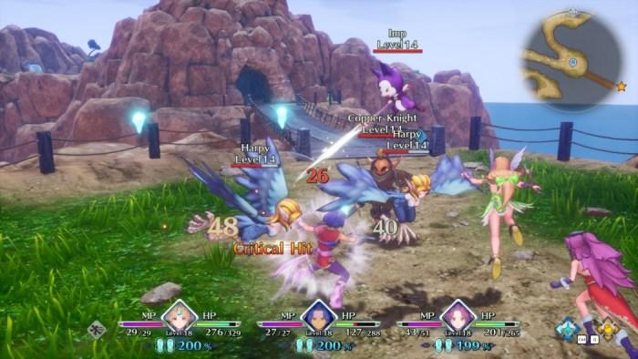 Análise Arkade: Trials of Mana, um remake fruto de decisões esquisitas
