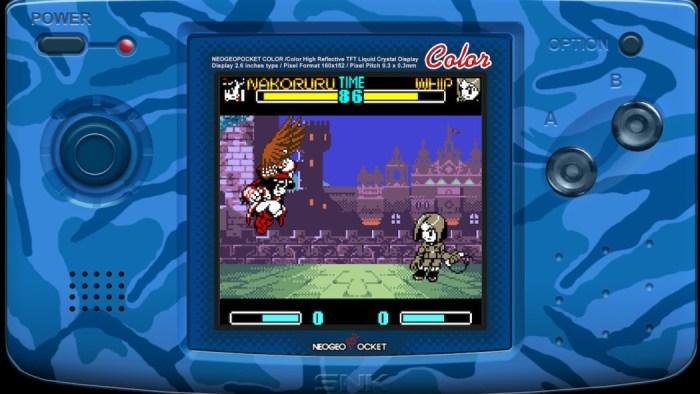 Análise Arkade: SNK Gals Fighters, dos tempos do Neo Geo Pocket Color para o Nintendo Switch
