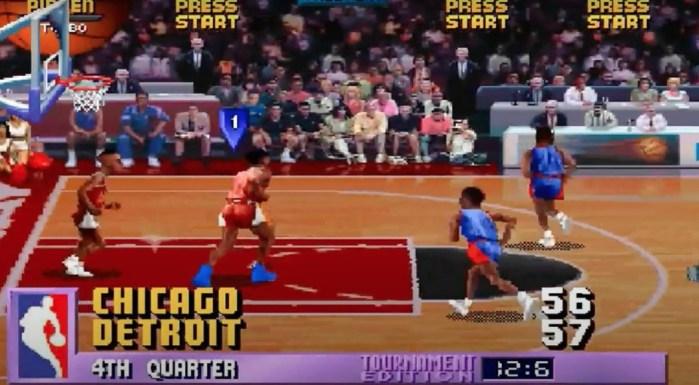 O criador de NBA Jam admitiu que o Detroit Pistons tem um cheat contra o Chicago Bulls