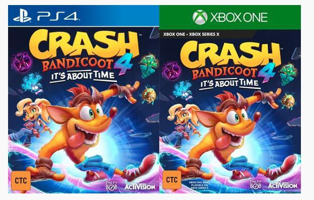 Órgão regulamentador deixa escapar que Crash Bandicoot 4 vem aí!