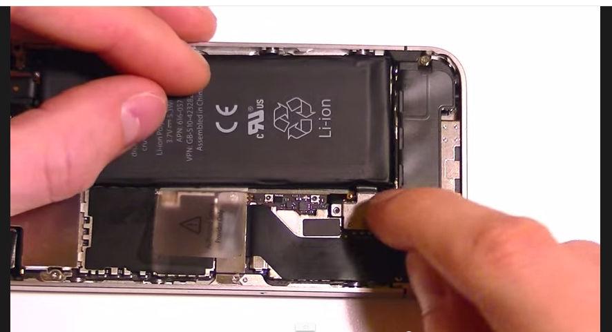 iphone 4s wymiana baterii