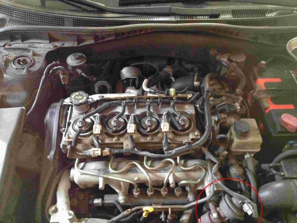 Mazda silnik RF5C po zdjeciu pokrywy