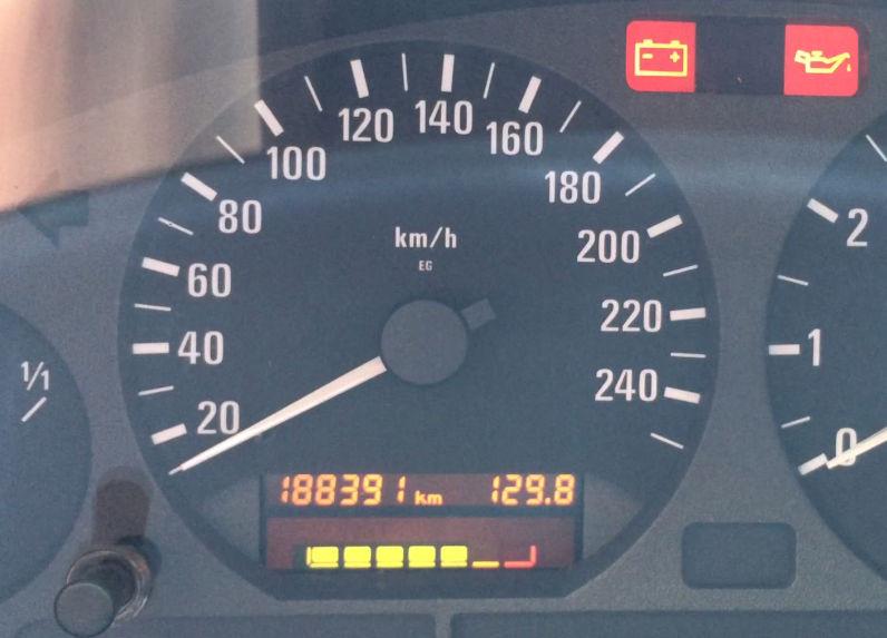 BMW e36 oil service reset