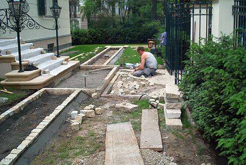 vorgarten gestalten pflastern reimplica garten und bauen, Hause und garten