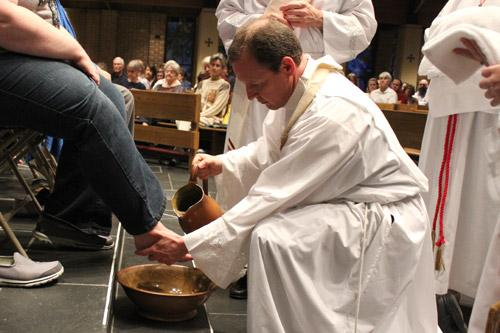Catholics in Arkansas gathered for Holy Week worship