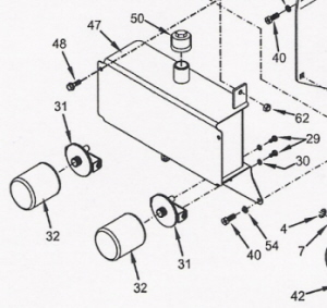 WRIGHT MOWER PARTS