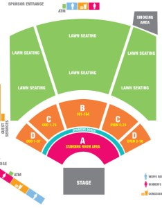 Walmart arkansas music pavilion seating chart also rh arkansasamphitheater