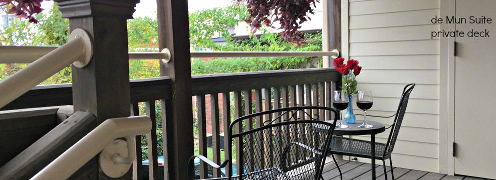 de Mun Suite porch