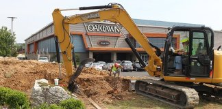 Construction underway at Oaklawn