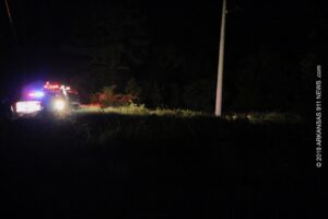 NPMC Survival Flight Crew Responds To Rollover Crash On Rushfork Rd. – GARLAND COUNTY