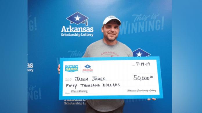 Arkansas Man Buys Lottery Tickets To Break 0 Bill, Wins K Lottery Prize