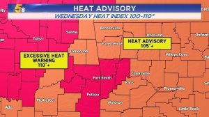 WATCH: Dangerous Heat And Humidity Today