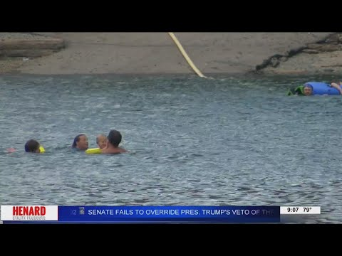 WATCH: Officials warn about cliff jumping in Greers Ferry
