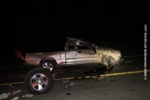 Fatal Midnight Rollover Crash On Hwy. 70E At Rest Area – GARLAND COUNTY