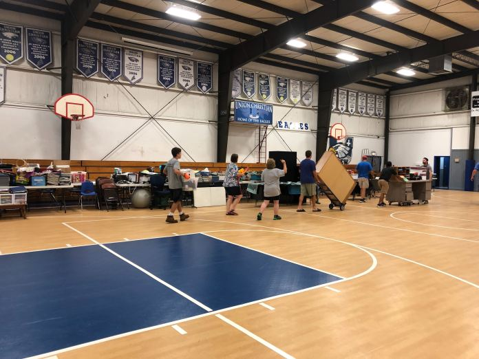 Volunteers Cleaning Up Fort Smith's Union Christian Academy After Flooding, Classes To Be Moved Monday