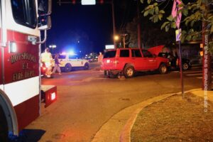 Traffic Crash At Spring Street/Malvern Ave – Hot Springs