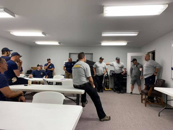 Area Emergency Management Task Force Departs For East Coast To Aid In Hurricane Rescues