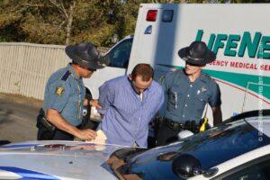 Trooper Zaps Fleeing Parolee Back Into Compliance; Felony Arrest – GARLAND COUNTY