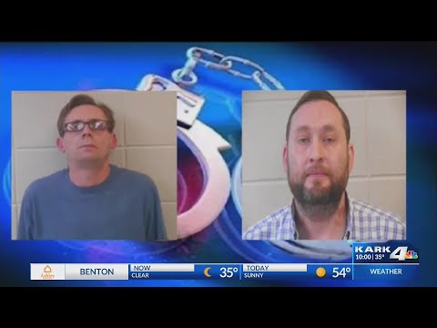 VIDEO: 2 Henderson State University professors arrested on meth, drug charges, Clark Co. Sheriff's Office s