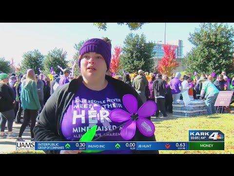 VIDEO: Alzheimer walk