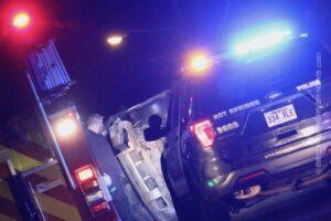 Rollover Crash On Silver Street – HOT SPRINGS