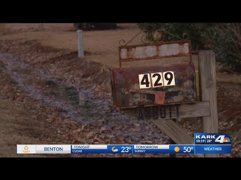 VIDEO: Large amount of mail dumped in Lonoke County; suspect arrested