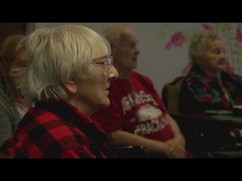 VIDEO: Local teens sing to local nursing homes to spread holiday cheer