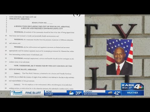 VIDEO: Pine Bluff to be first in state to declare sanctuary city for immigrants