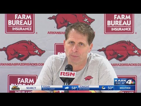 VIDEO: Eric Musselman shares excitement, concern after win against Ole Miss