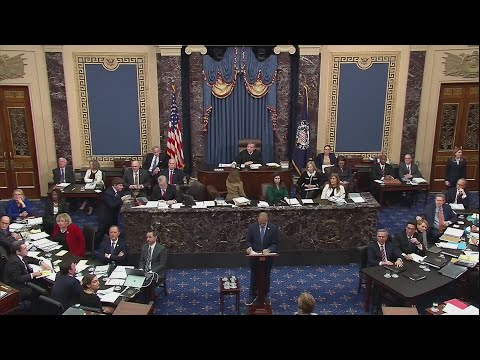 Watch: 24 hours in, senators flout quaint impeachment rules
