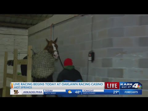 Watch: Oaklawn Opening Weekend