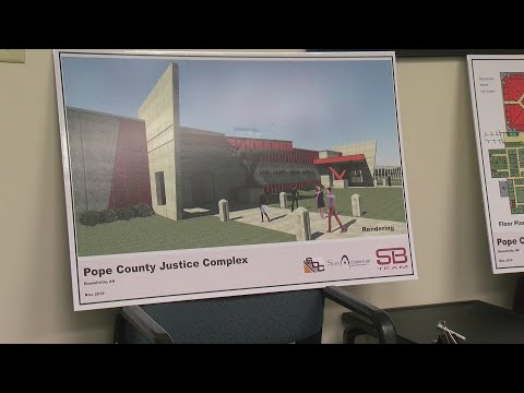 Watch: Pope County Sheriff writes letter asking for new justice complex