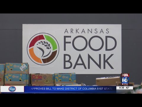 Watch: AR Foodbank beats previous distribution record