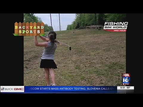 Watch: Backyard Sports: 7-year-old girl has crazy golf swing
