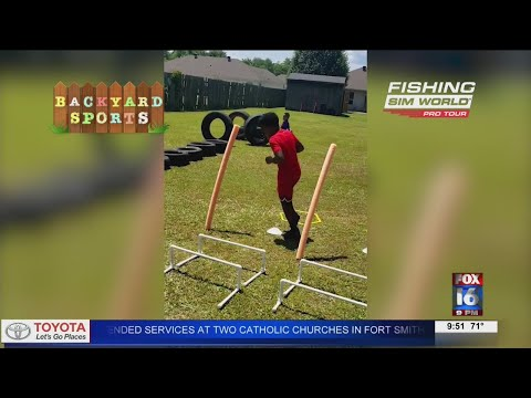 Watch: Backyard Sports: Two 9-year-olds with amazing footwork