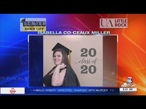 Watch: Senior Send-Off: Isabella Co-Ceaux Miller