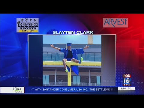 Watch: Senior Sports Send-Off: Slayton Clark