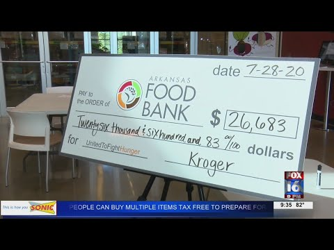 Watch: $26k+ raised in 'Zero Hunger, Zero Waste' Campaign for Arkansas Foodbank