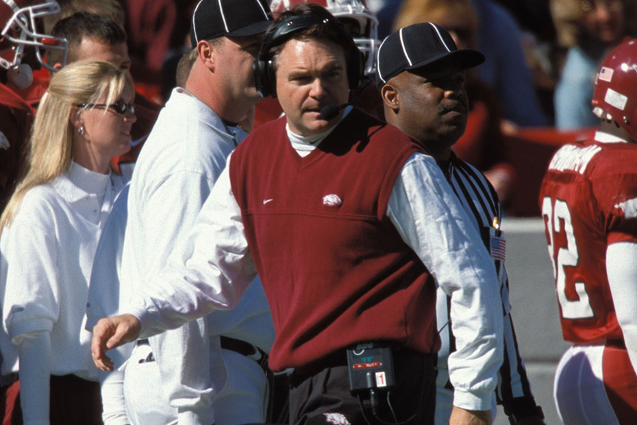 Nutt Inducted Into Cotton Bowl Hall Of Fame  Arkansas Razorbacks
