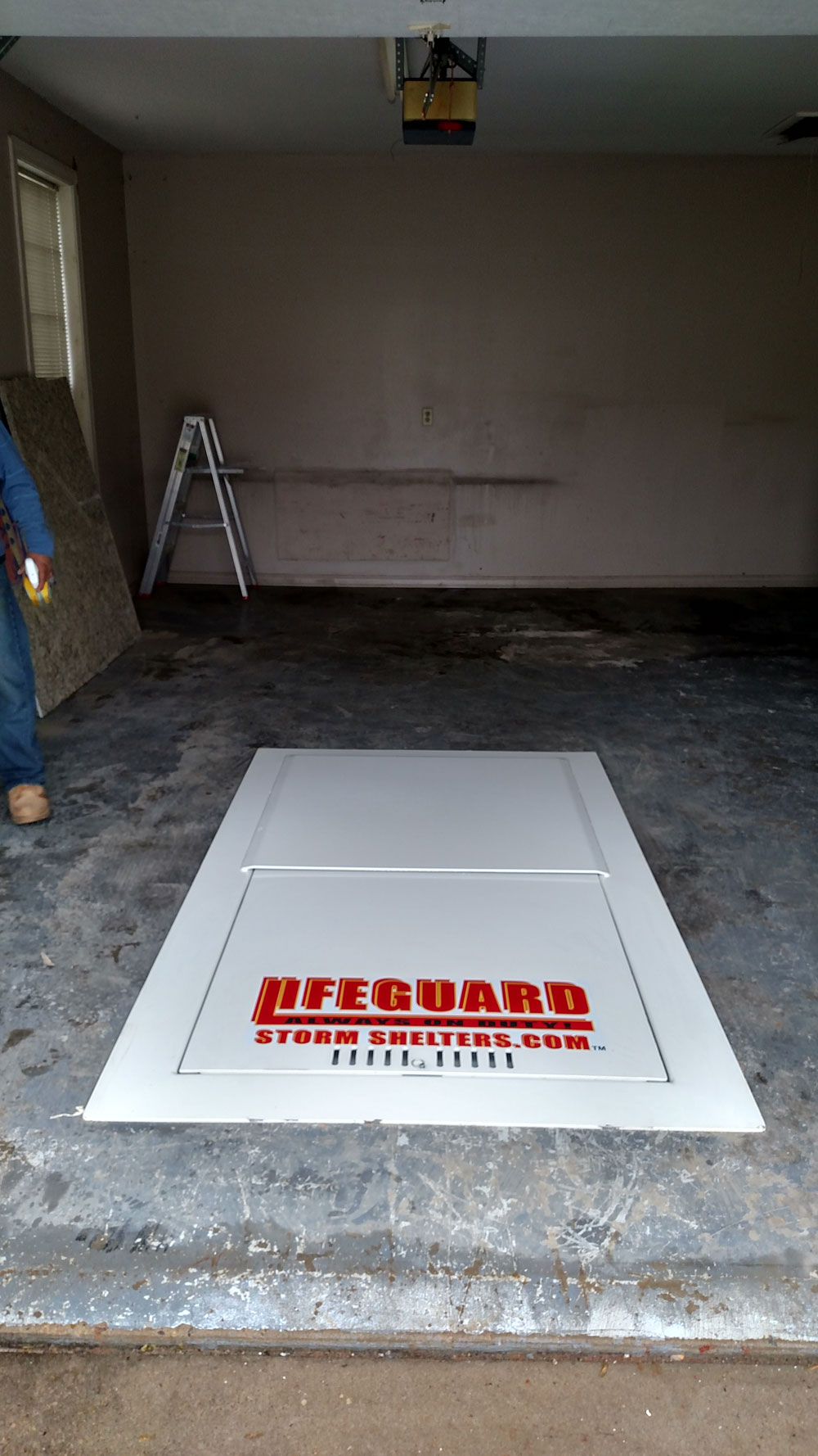 Garage Floor Shelters preexisting homes Photo Gallery