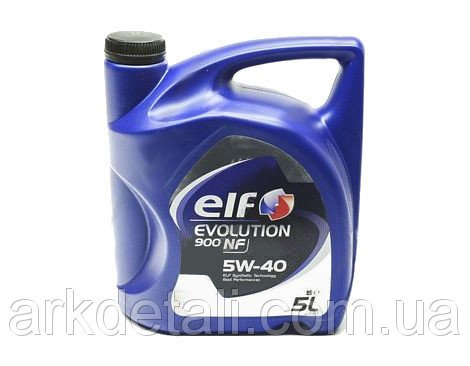 Масло ДВС 5W40 5 л NF Evolution Elf