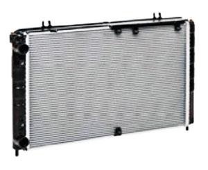 Радиатор охлаждения на ВАЗ 1118 с кондиционером PANASONIC алюминиевый-паяный