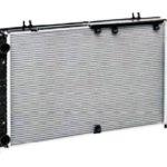 Радиатор охлаждения на ВАЗ 1118 с конд PANASONIC (алюм-паяный)