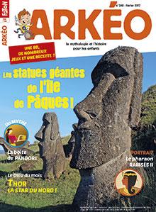 Les statues géantes de l'île de Pâques